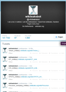 wikileaksbot (wikileaksbot)II