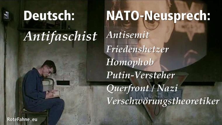 NATO-Neusprech-Antifaschist