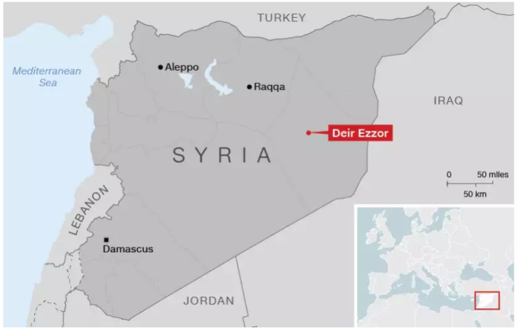 Syria- Relief in parts of Deir Ezzor as 3-year ISIS siege is broken - CNN 21-9-2017 23-18-00